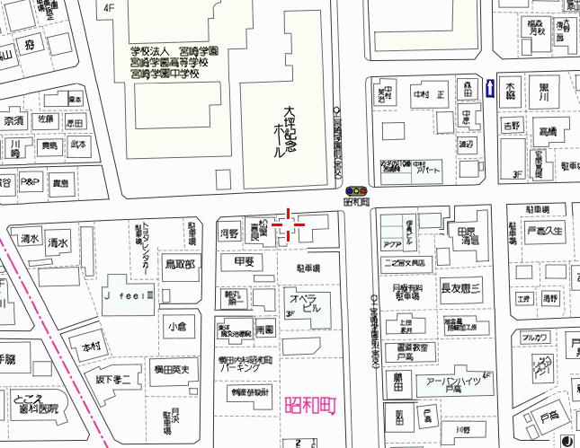 昭和町土地地図