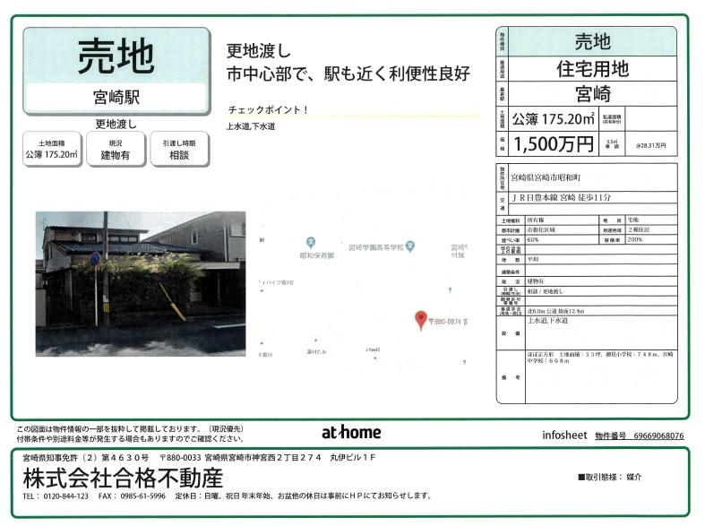 昭和町土地インフォ